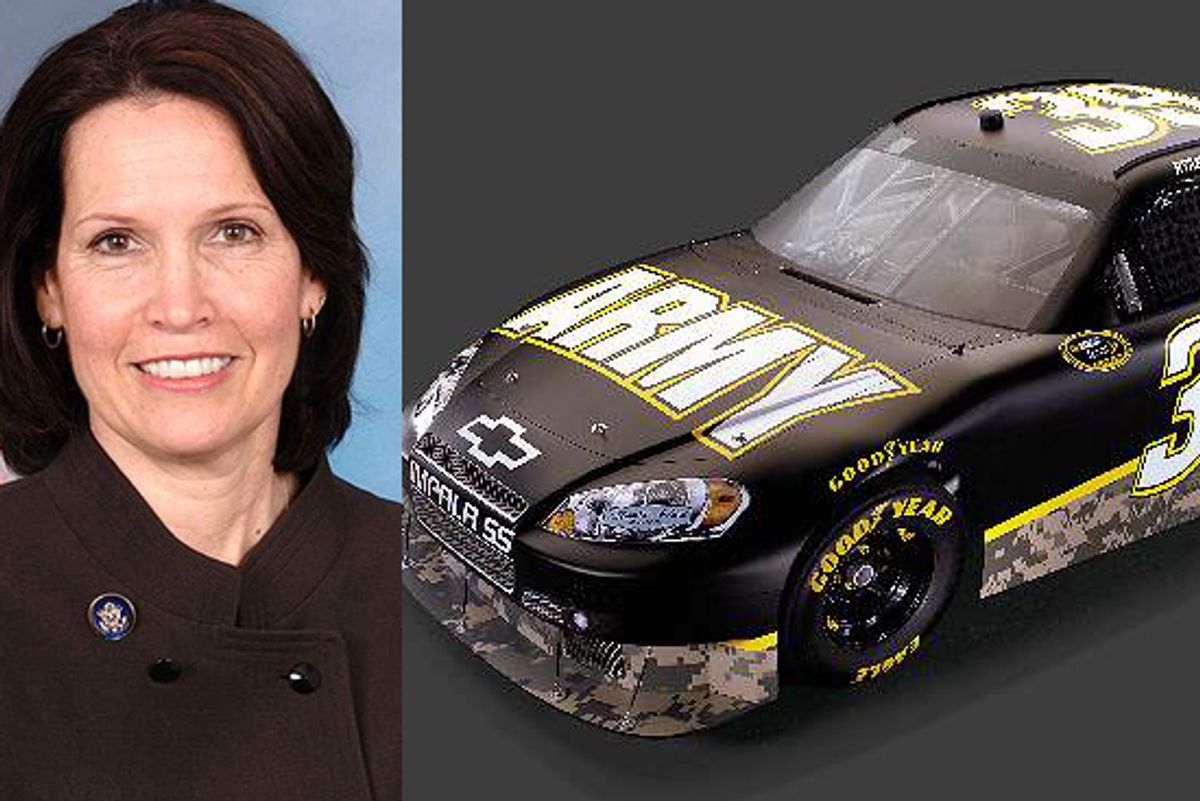 Rep. Betty McCollum, and the US Army Chevy Impala