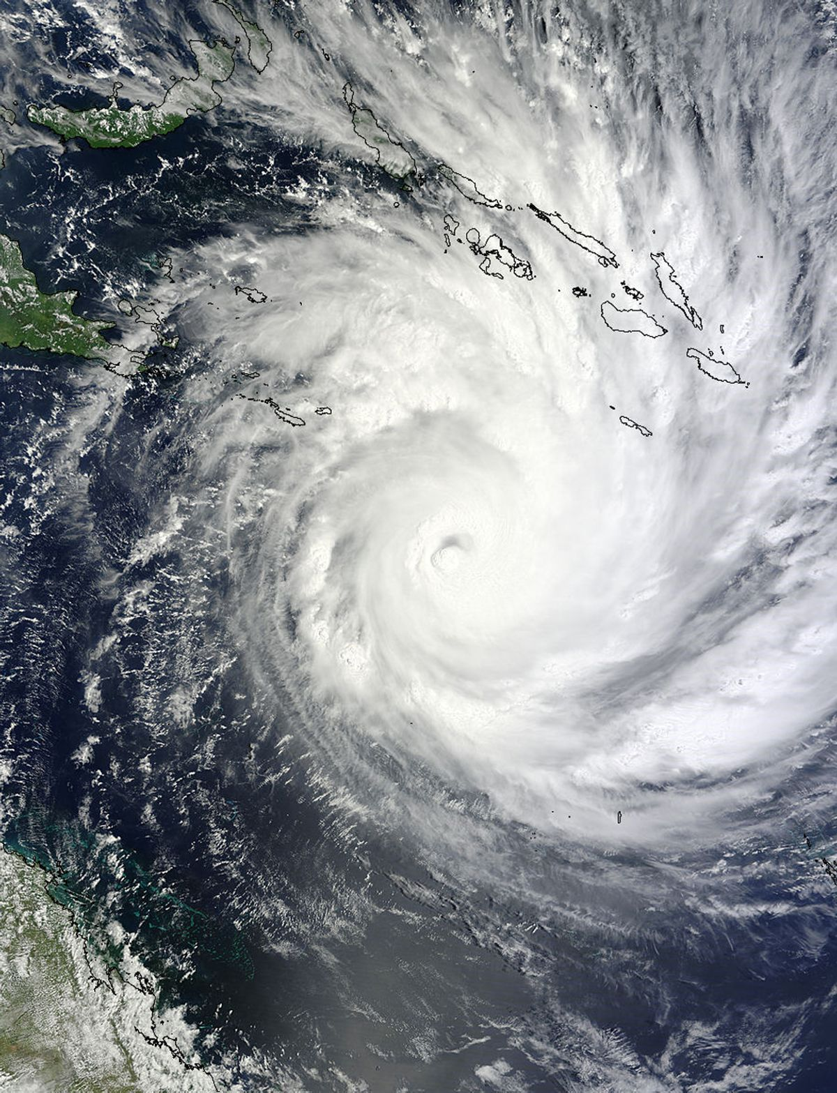 Cyclone Yasi's landfall in Australia in early February punctuated a year of extraordinary weather events.