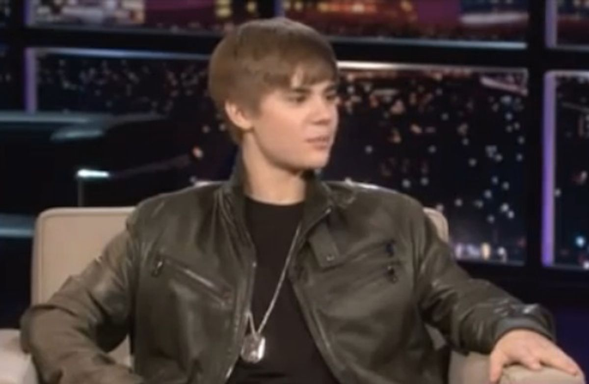 That is Justin Bieber, not a lesbian.