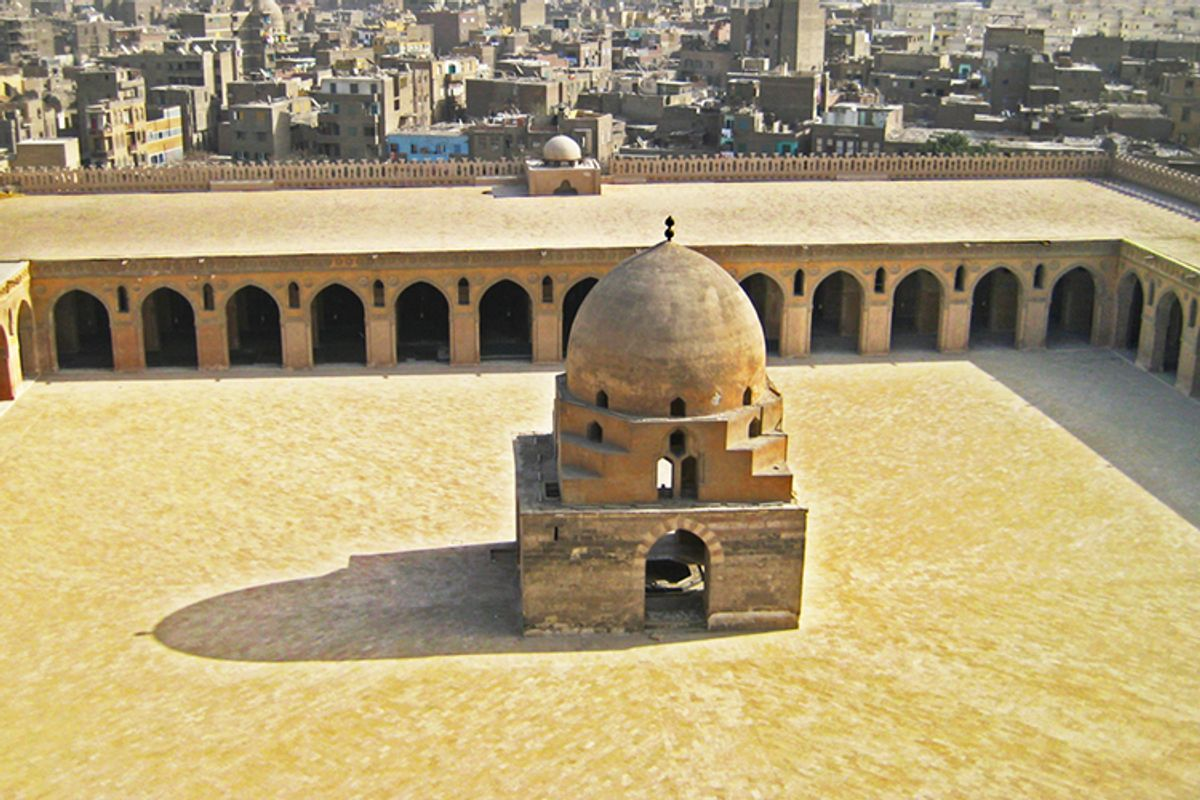 The Ibn Tulun mosque in Cairo