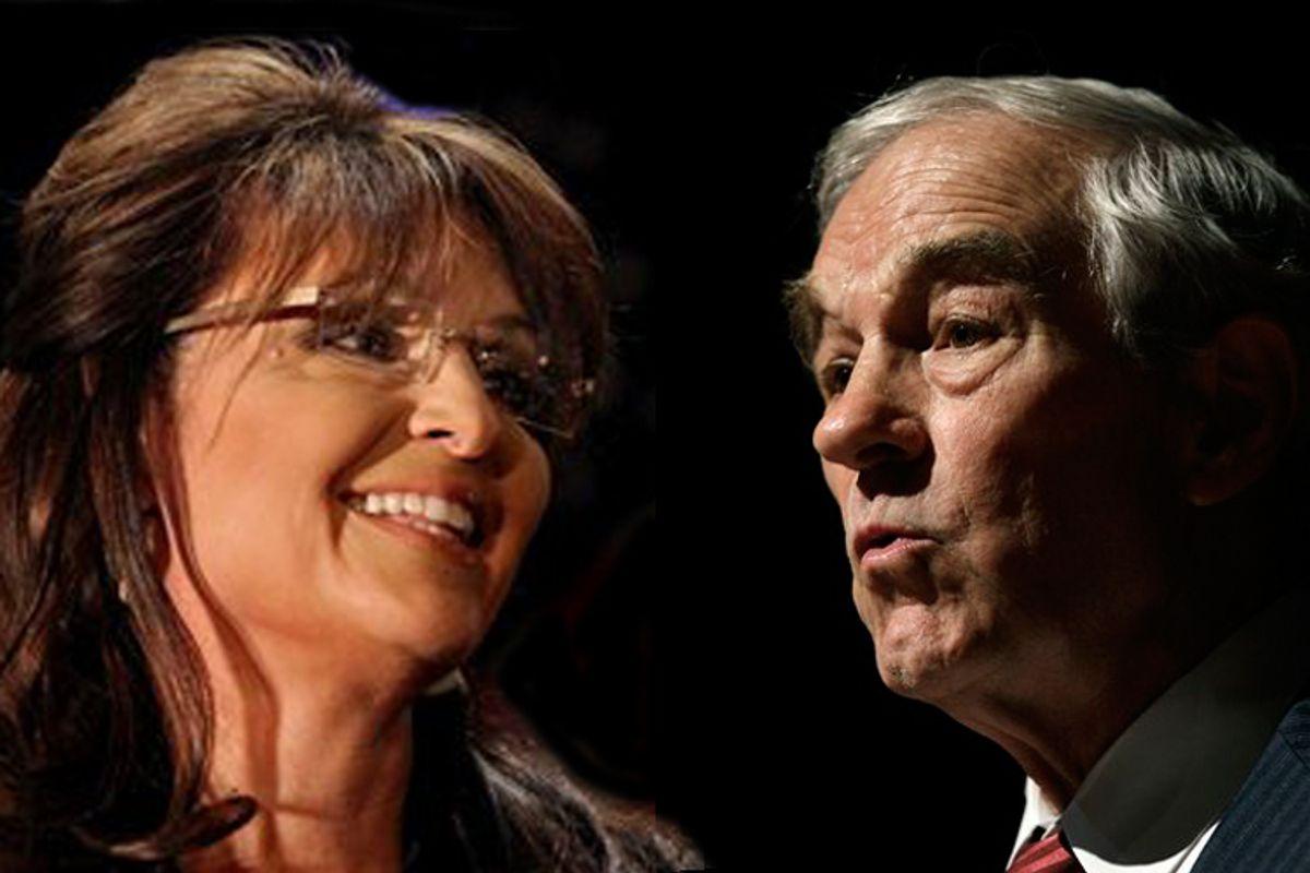 Sarah Palin and Ron Paul