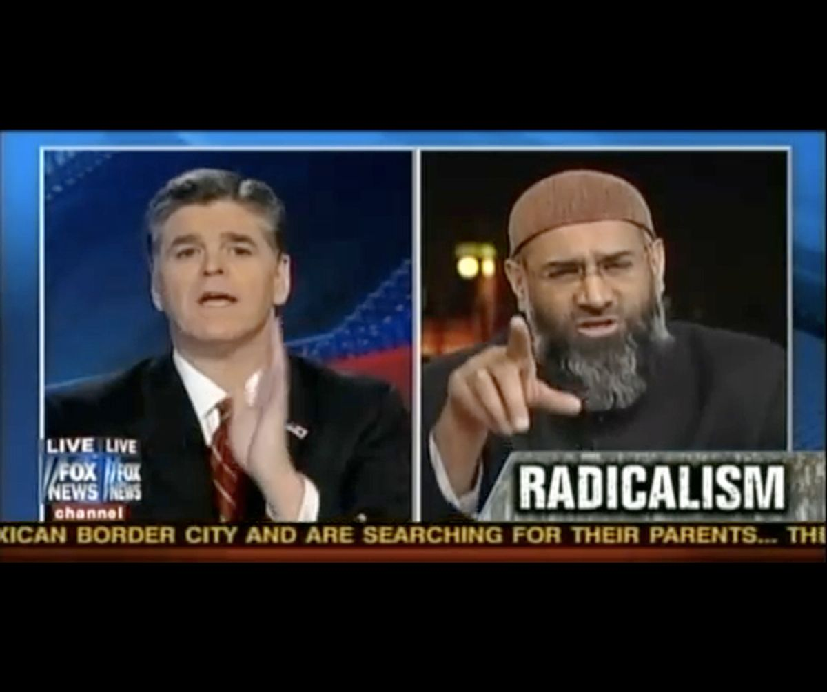 Sean Hannity and Anjem Choudary face off.