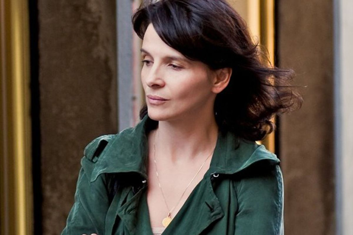 """Juliette Binoche in """"Certified Copy"""""""