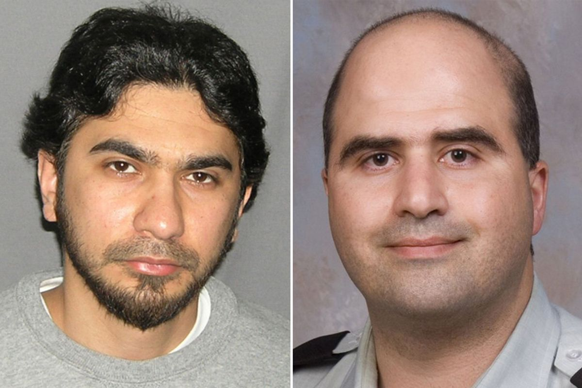 Faisal Shahzad, the man who set a bomb in Times Square, and Nidal Hasan, the Fort Hood shooter.