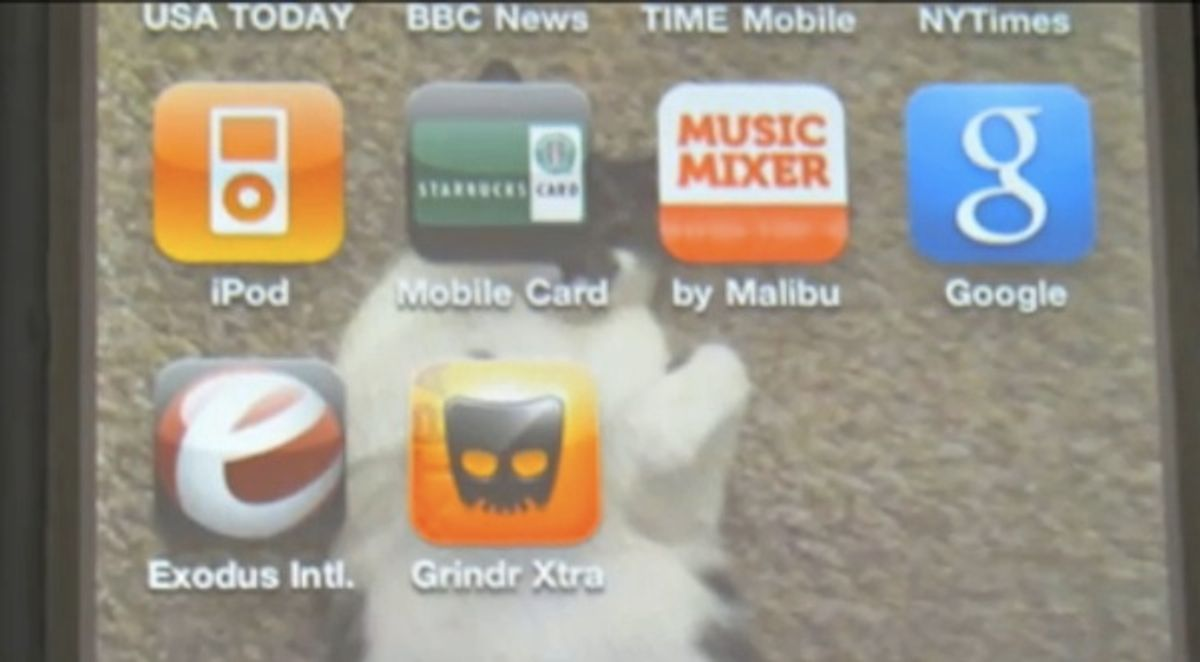 The iPhone app to cure you of homosexuality.