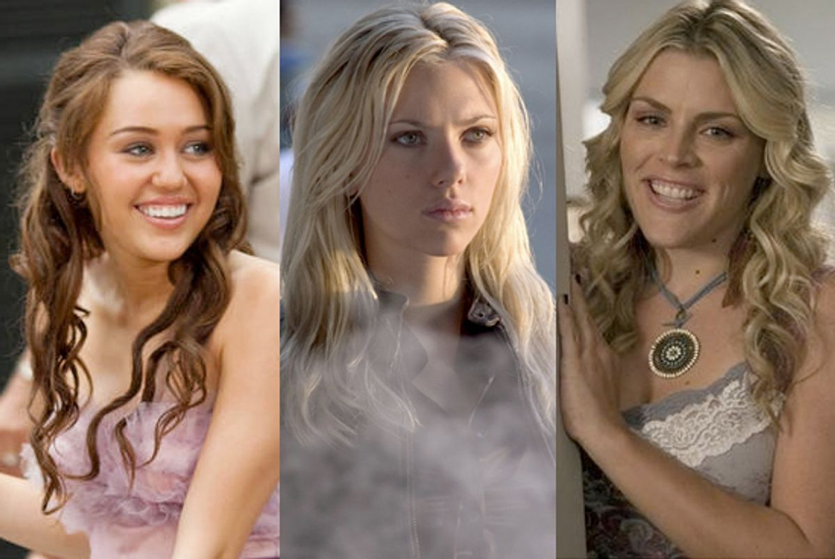 Miley Cyrus, Scarlett Johansson and Busy Philipps were all targeted by the hackers looking for nude pictures.