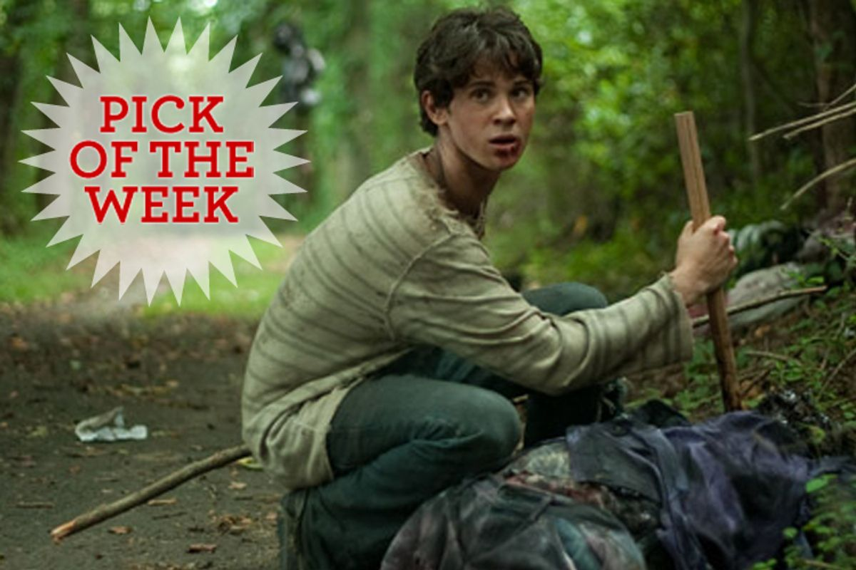 """Connor Paolo in """"Stake Land."""""""