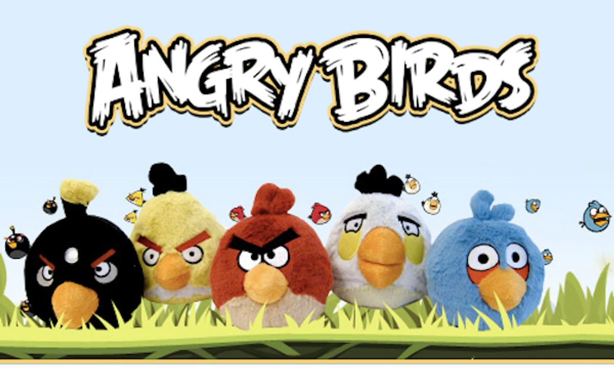 Angry Birds: taking over your computer first, and then your mind.