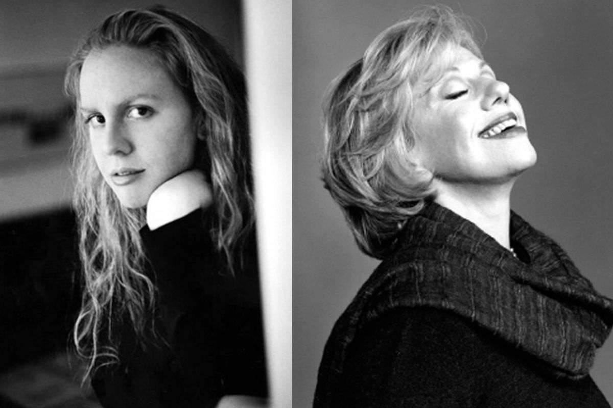 Molly Jong-Fast and her mother Erica Jong