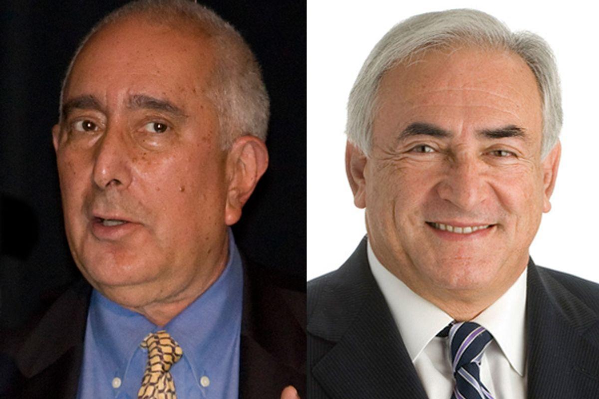 Ben Stein and Dominique Strauss-Kahn