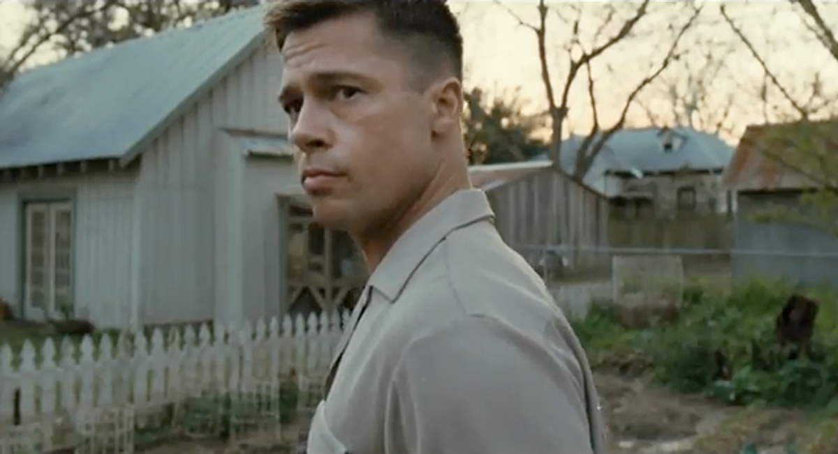"Brad Pitt stars in ""The Tree of Life."""