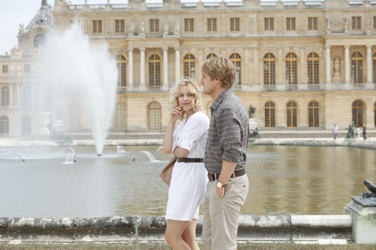 "Rachel McAdams and Owen Wilson in Woody Allen's ""Midnight in Paris,"" which opens this year's Cannes Film Festival."