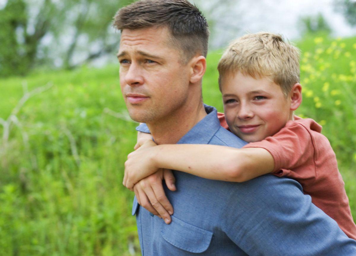 "Brad Pitt in ""The Tree of Life"""