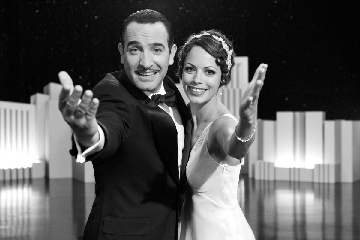 Jean Dujardin and B