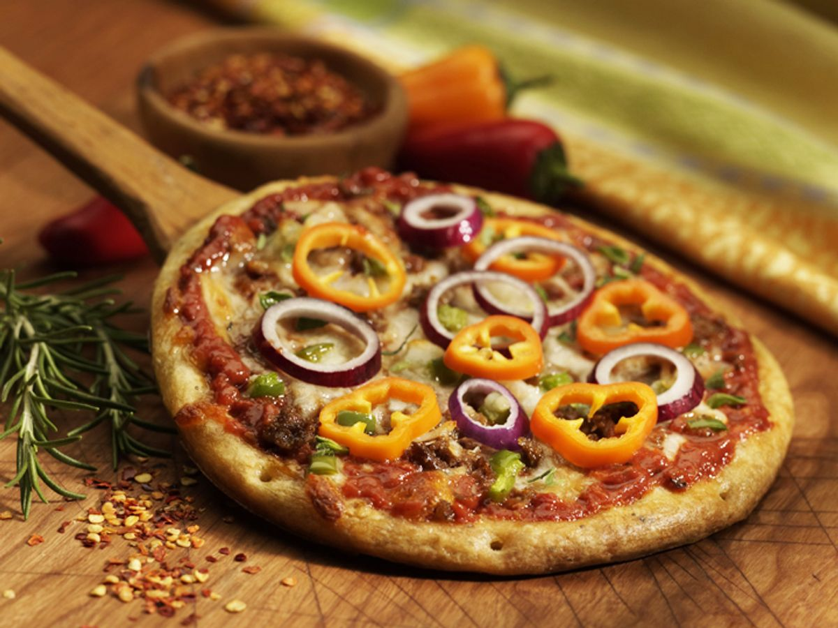 """""""Rising Crust Pizza"""" from Jenny Craig."""