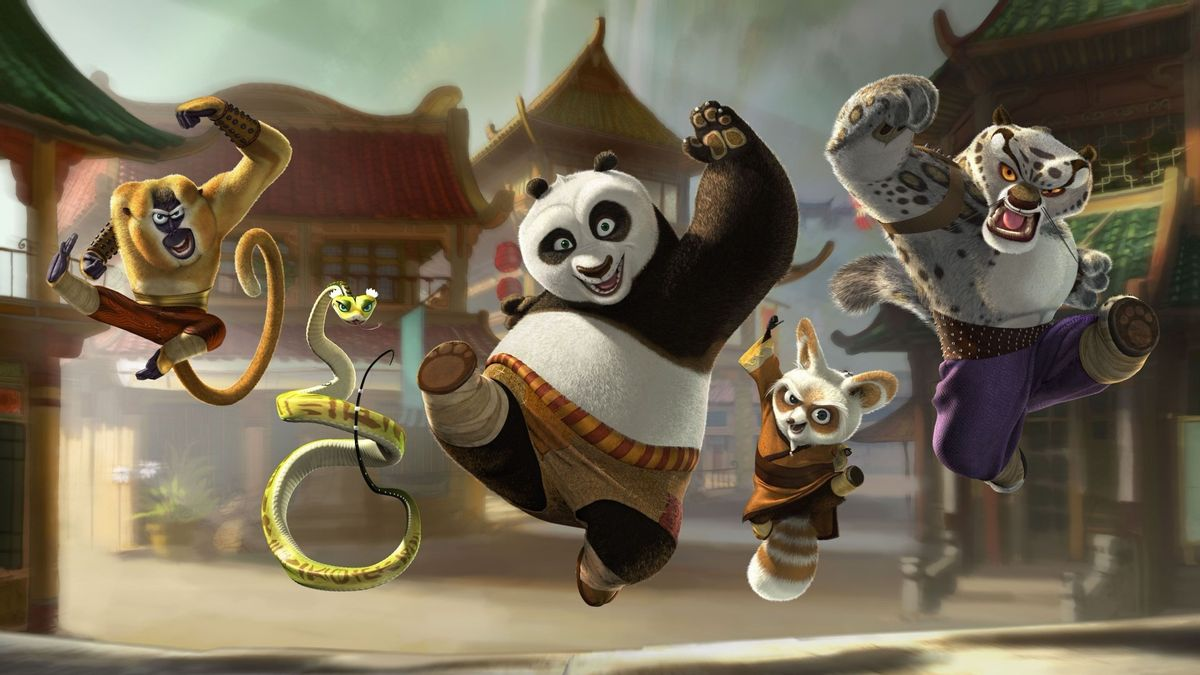 """Don't ask the cast of """"Kung Fu Panda"""" their thoughts on bin Laden."""