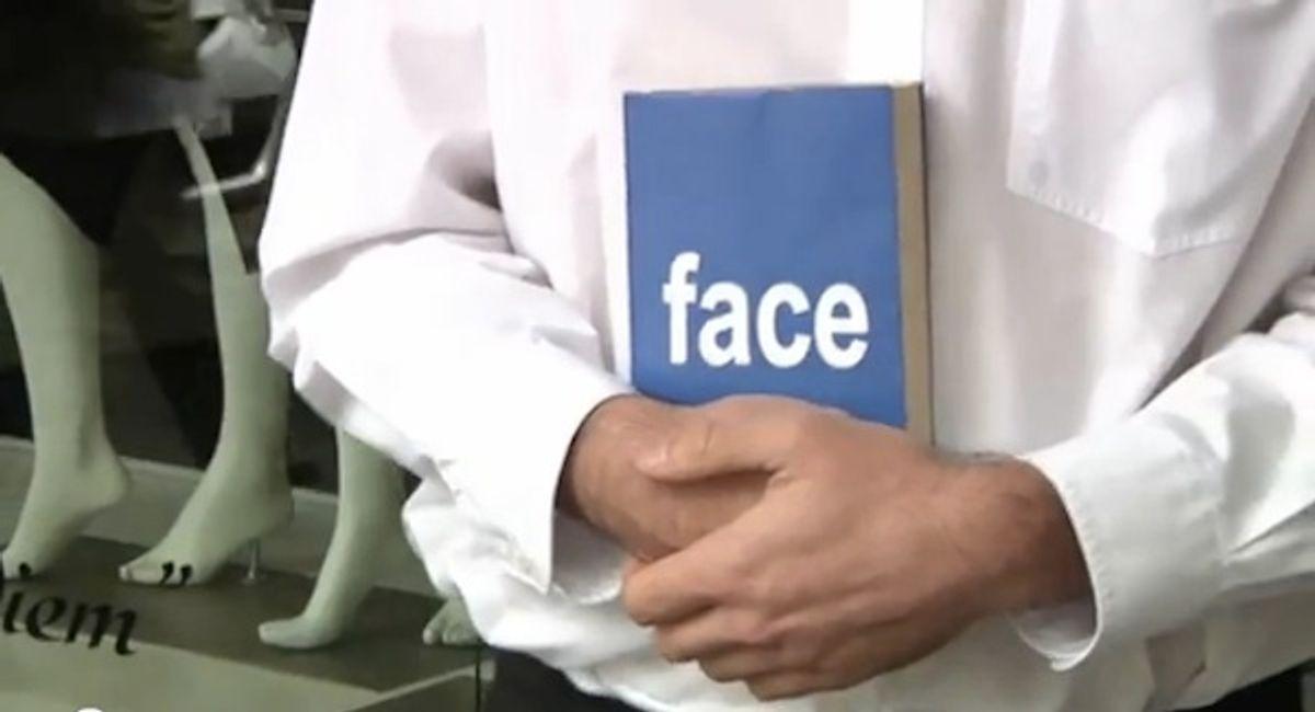 Face. Book.
