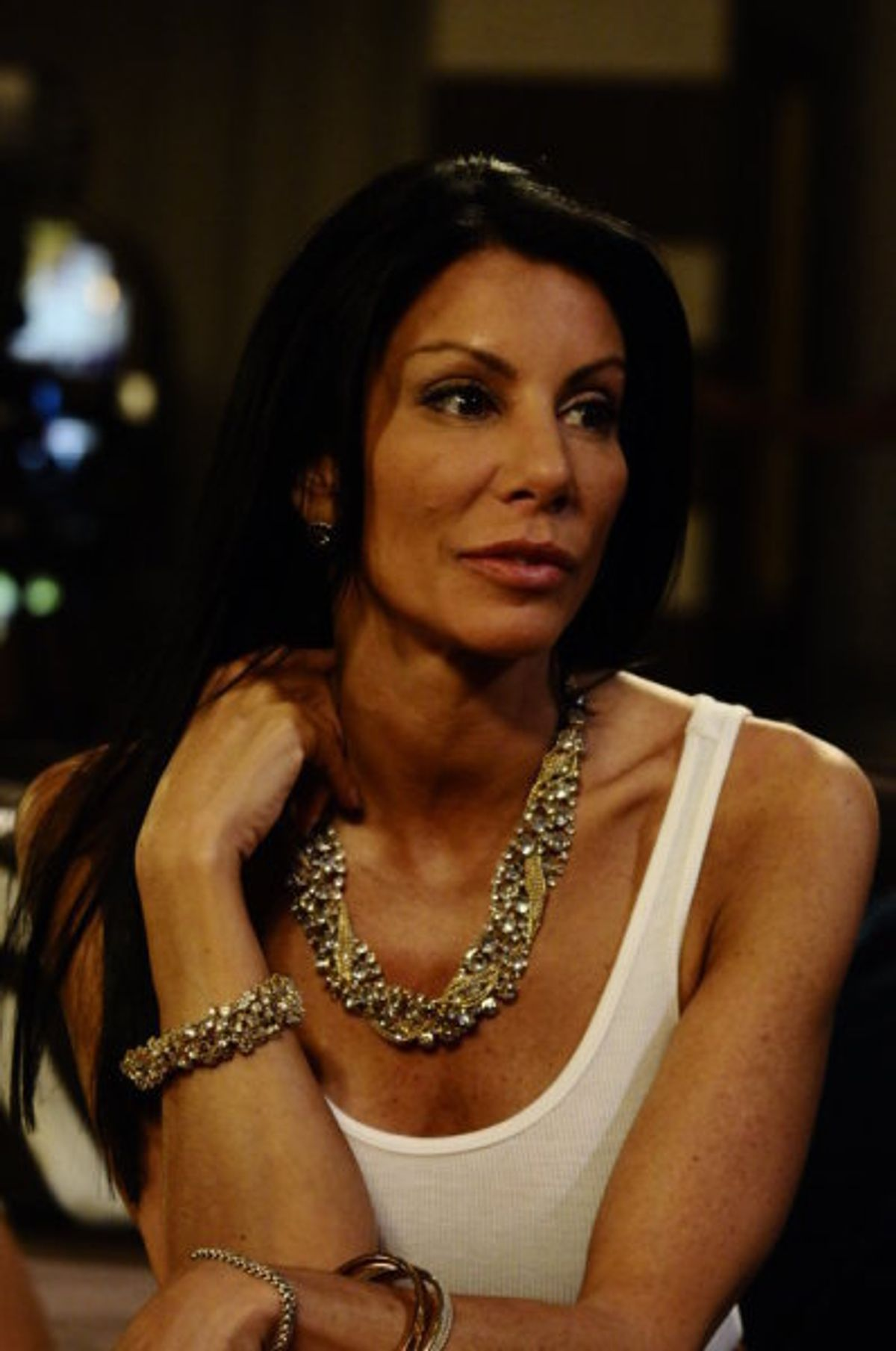 THE REAL HOUSEWIVES OF NEW JERSEY -- The Reunion Special -- Pictured: Danielle Staub -- Photo by: Andrei Jackamets/Bravo  (Andrei Jackamets)