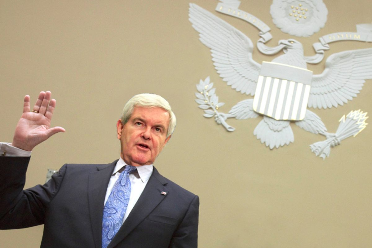 President-elect Newt Gingrich?