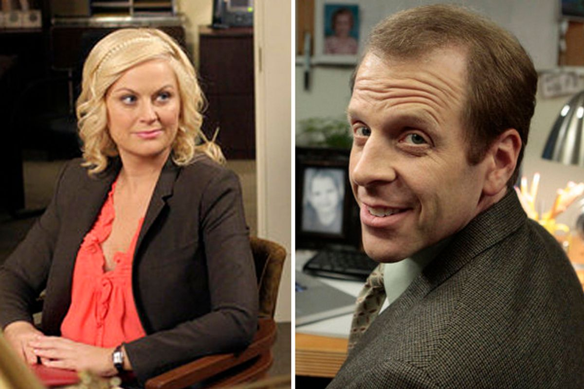 """THE OFFICE -- """"Search Committee"""" Episode 725/726 -- Pictured: Paul Lieberstein as Toby Flenderson -- Photo by: Chris Haston/NBC (Chris Haston/nbc)"""