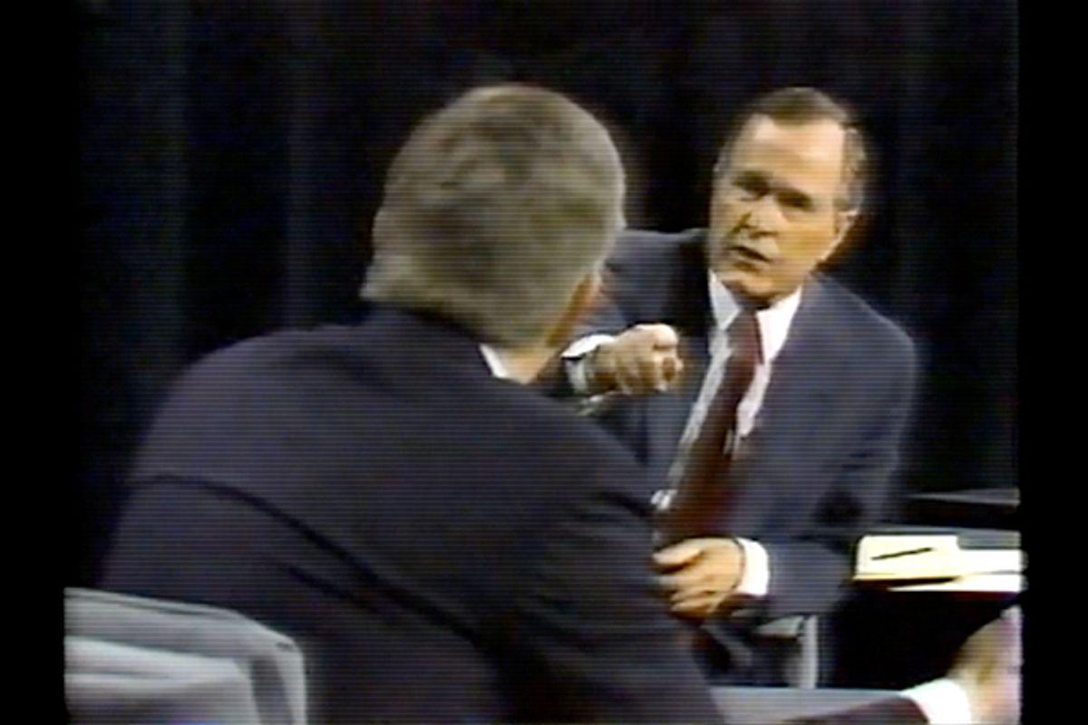 Jack Kemp and George Bush