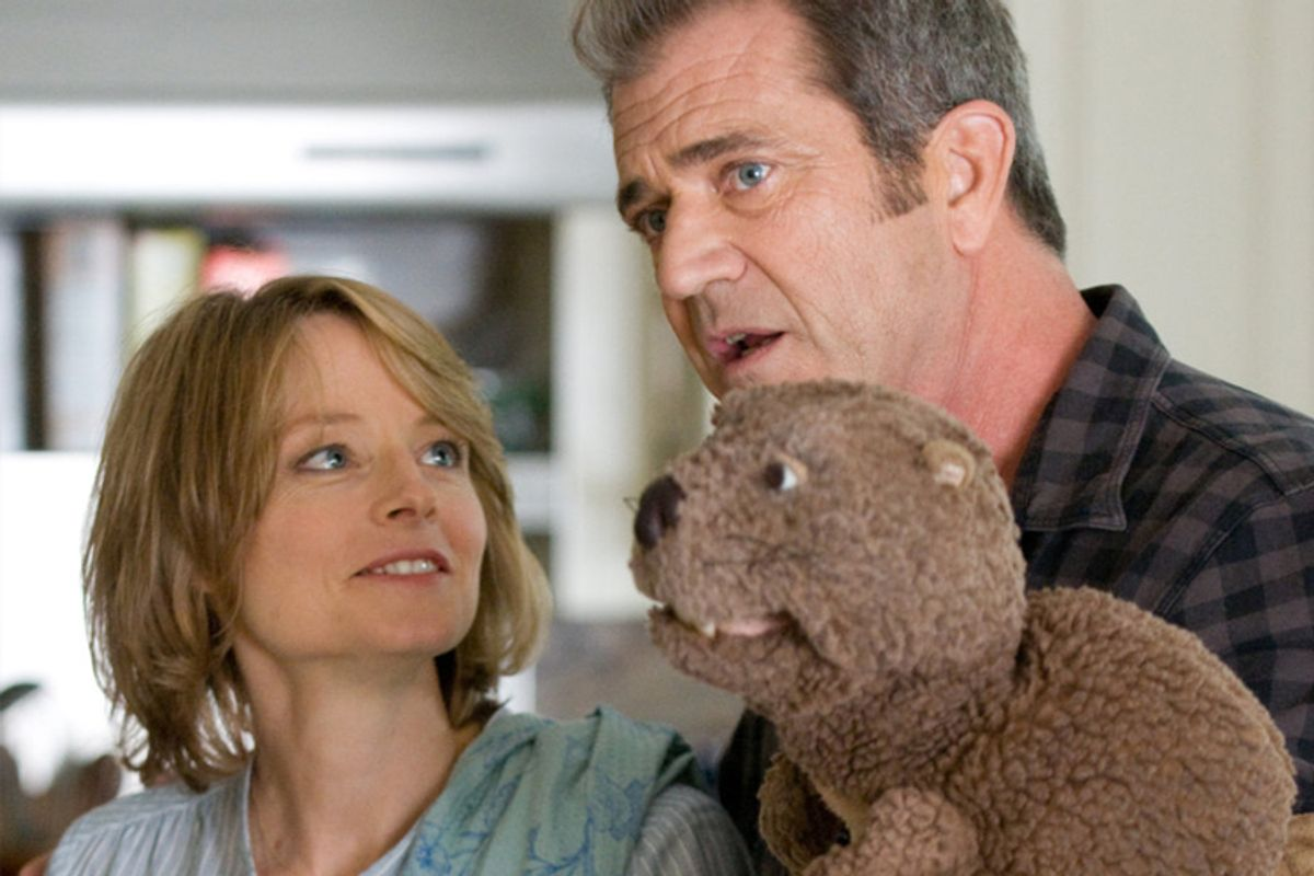 """Jodie Foster and Mel Gibson in """"The Beaver"""""""