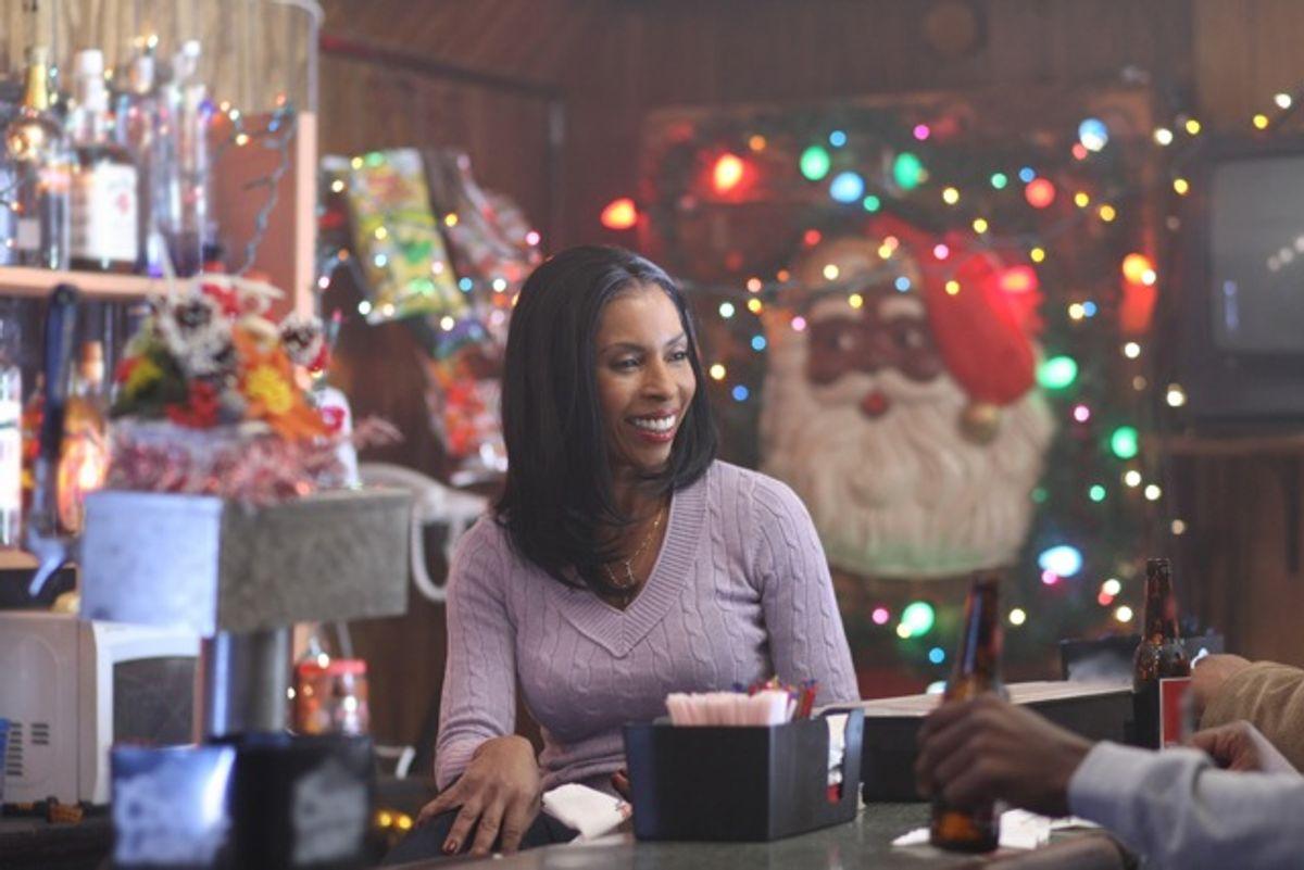 "LaDonna Batiste-Williams (Khandi Alexander) enjoys a moment of calm before a storm of violence on ""Treme."""