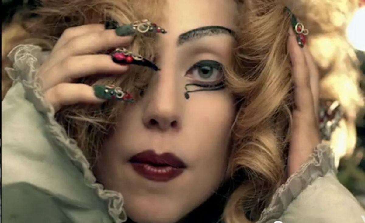 """Lady Gaga in """"Judas."""""""
