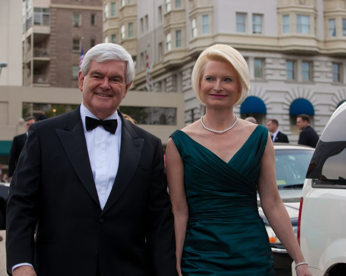 Newt and Callista Gingrich (Jeff Malet Photography)
