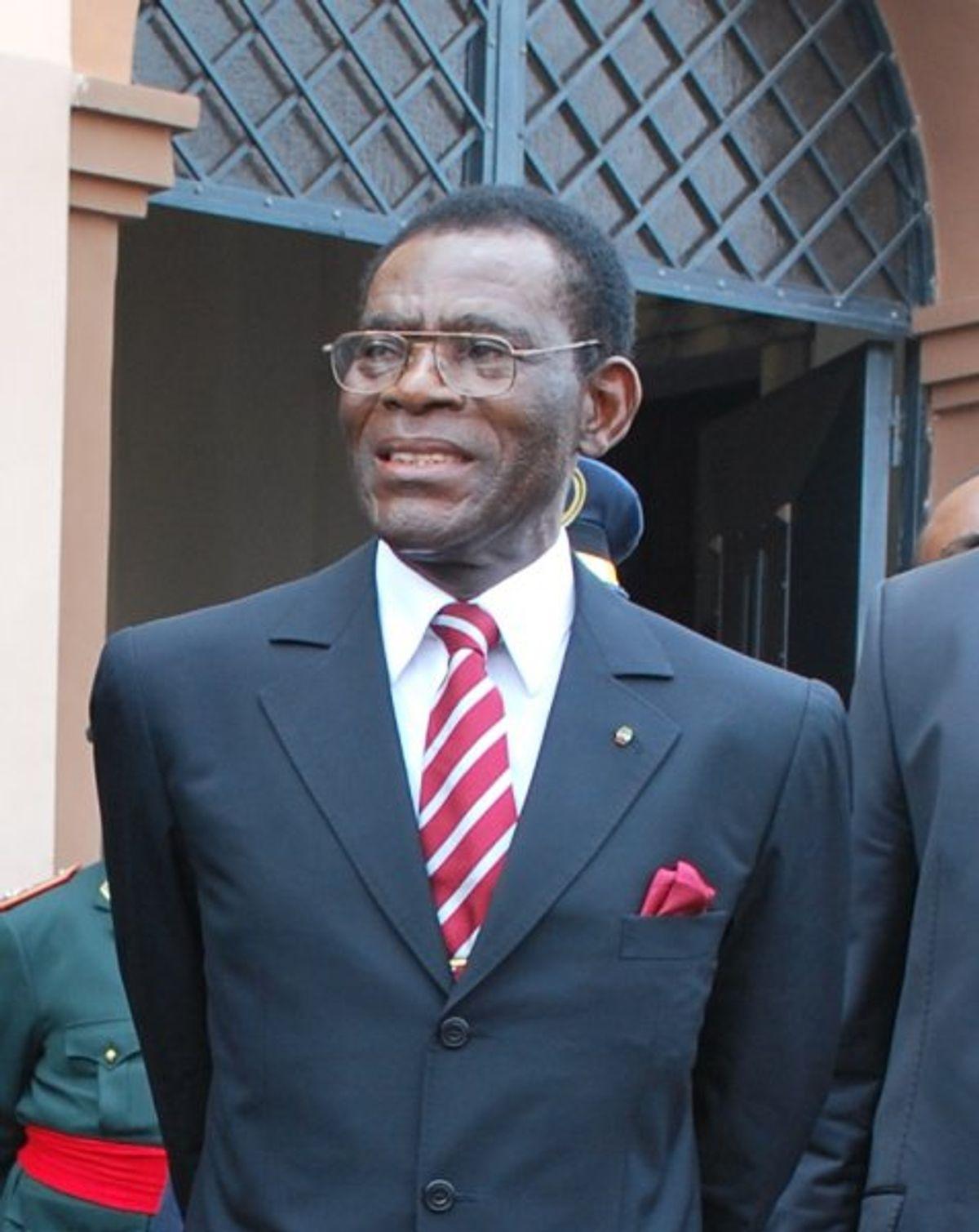 President Obiang of Equatorial Guinea