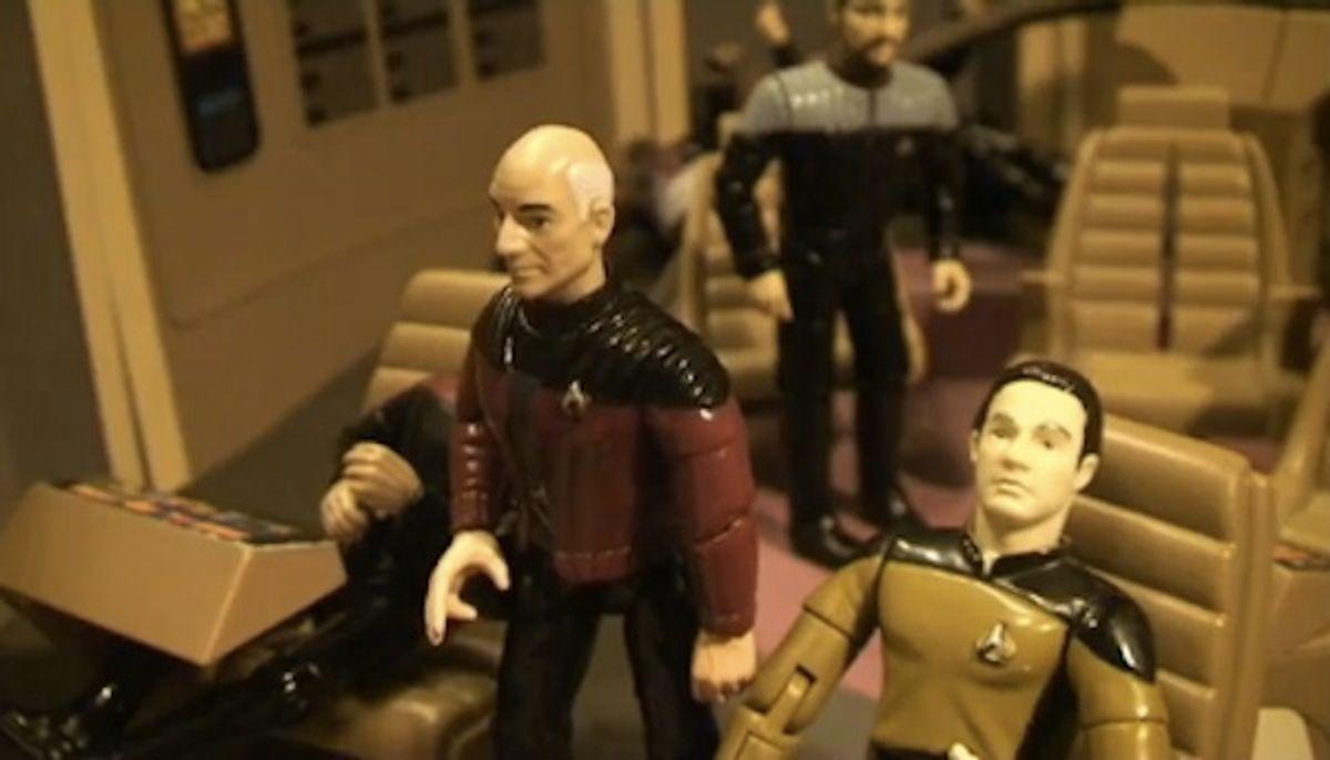 """""""Star Trek: The Next Generation: A XXX Parody"""" without the porn."""