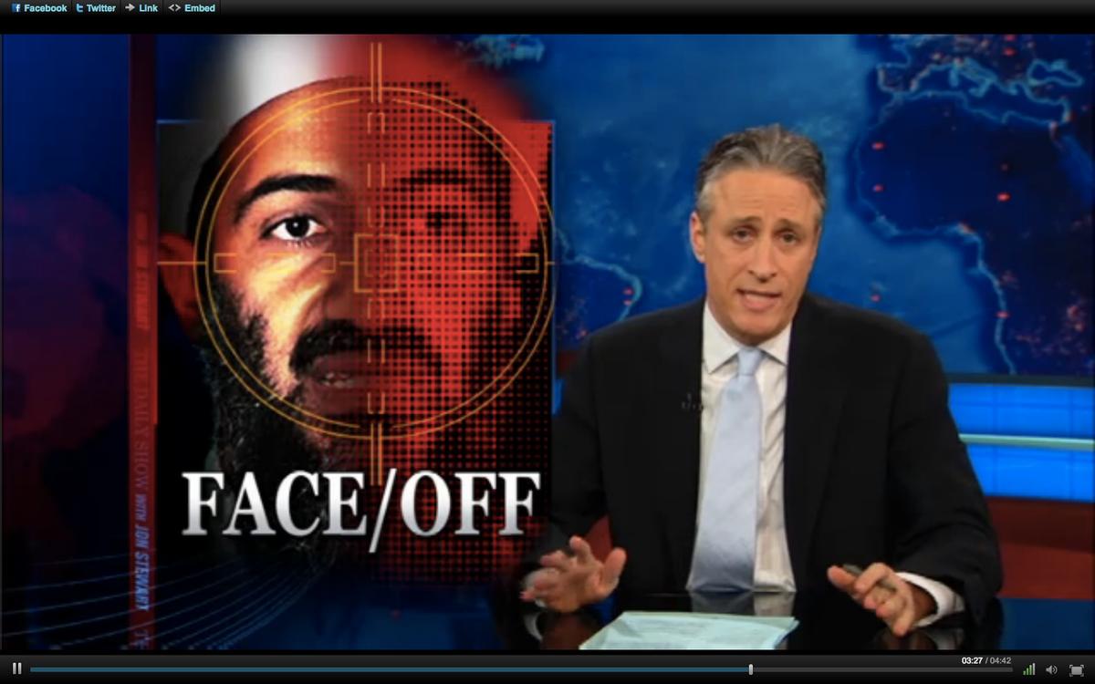 "Jon Stewart on Wednesday night's ""Daily Show"""