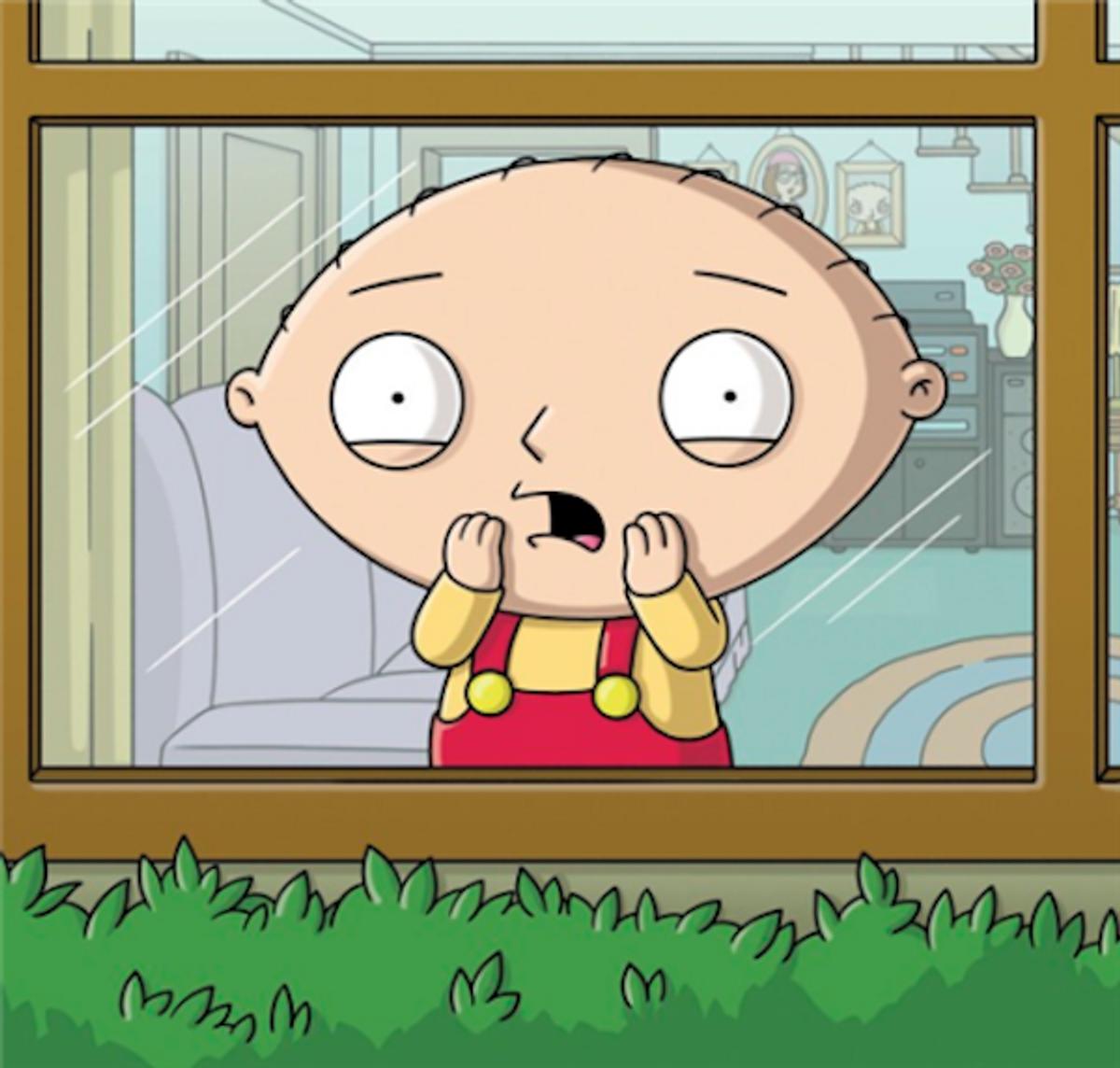 Stewie Griffin, status symbol.