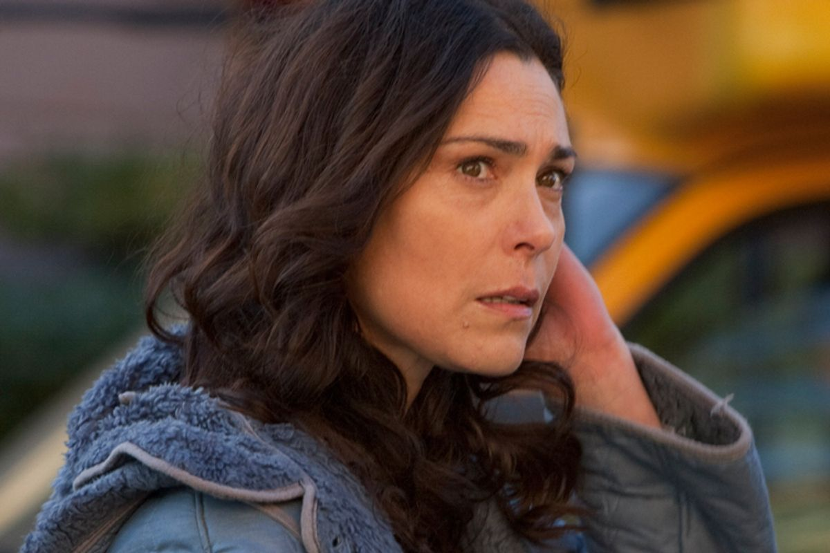 """Mitch Larsen (Michelle Forbes) instigated the shocking climax of last night's """"The Killing,"""" the AMC drama's silliest episode yet."""
