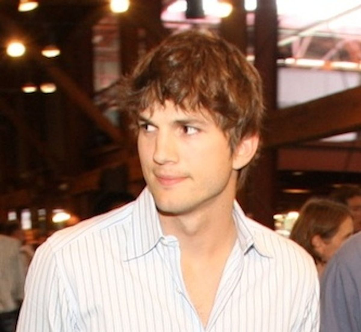 The one time you'll be relieved to hear Kutcher's name attached to a project.