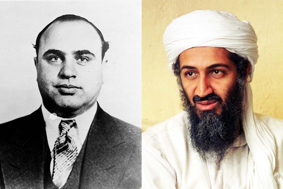 Al Capone and Osama bin Laden