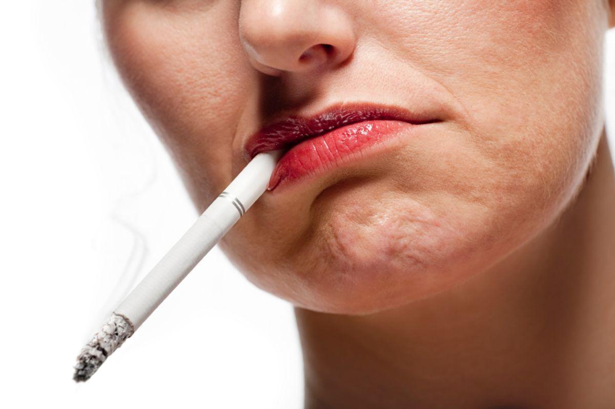 Cutting smoking reduces heart attacks (Mark Fairey)