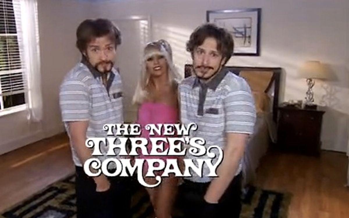 Timerlake, Gaga, and Samberg have a 3-way.