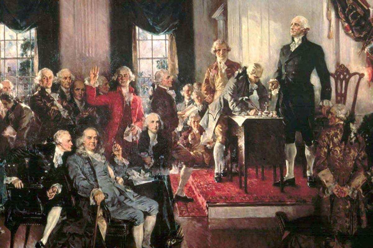 The 1787 Philadelphia Convention