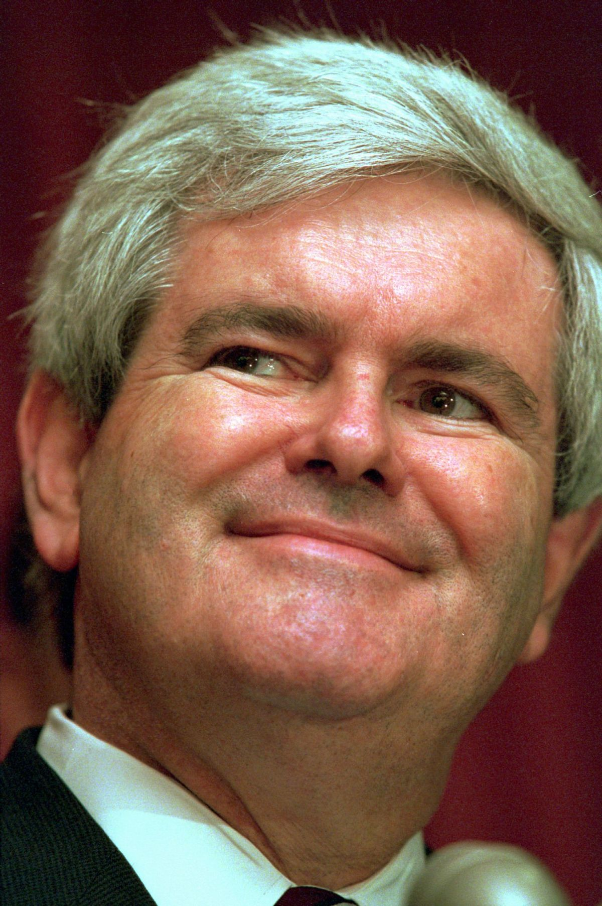 House Speaker Newt Gingrich of Georgia is shown in this March 13, 1995 photo in Washington. (AP Photo/J. Scott Applewhite)  (Associated Press)