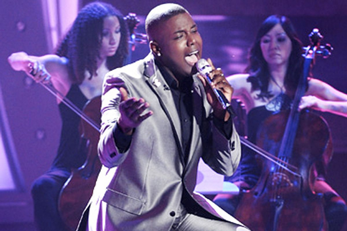 "Jacob Lusk on ""American Idol."""