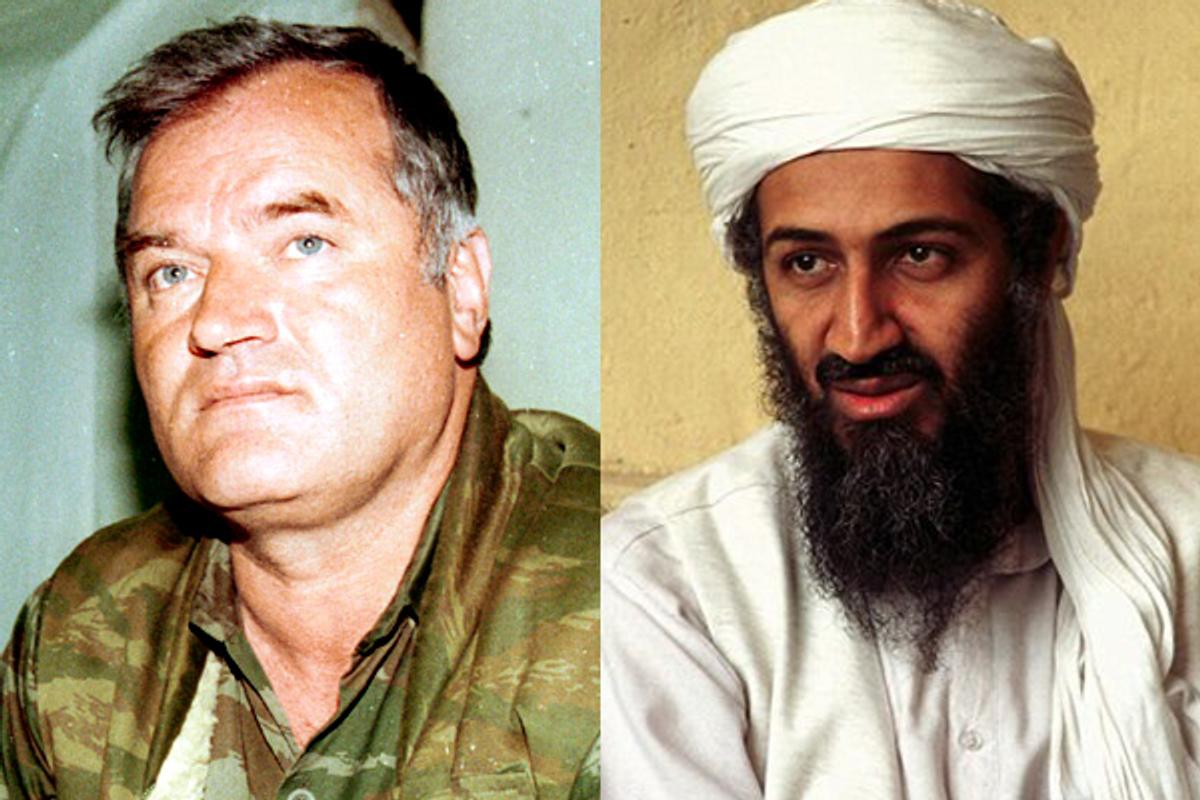 Ratko Mladic and Osama bin Laden