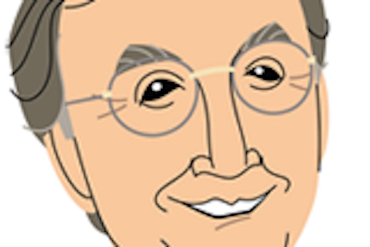 Juan Cole's Salon contributor caricature