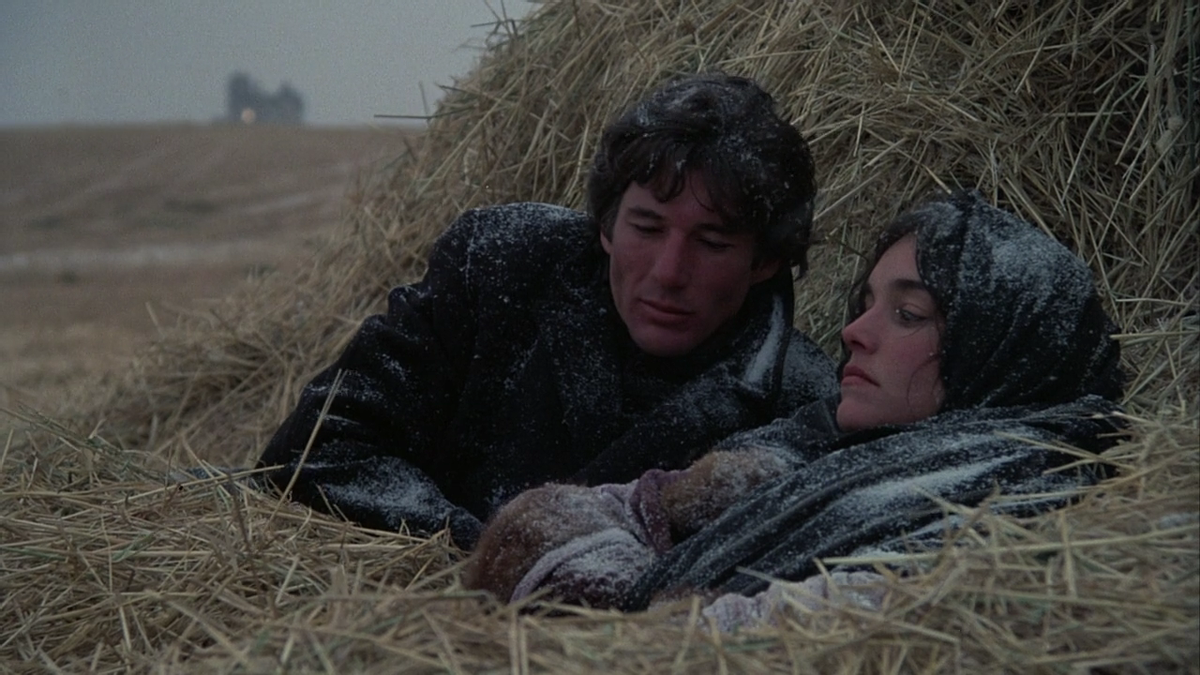"""Paradise lost: Richard Gere and Brooke Adams in Terrence Malick's second feature """"Days of Heaven"""" (1978)."""