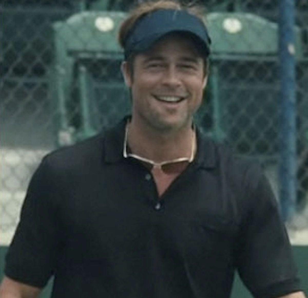 Brad Pitt as coach.