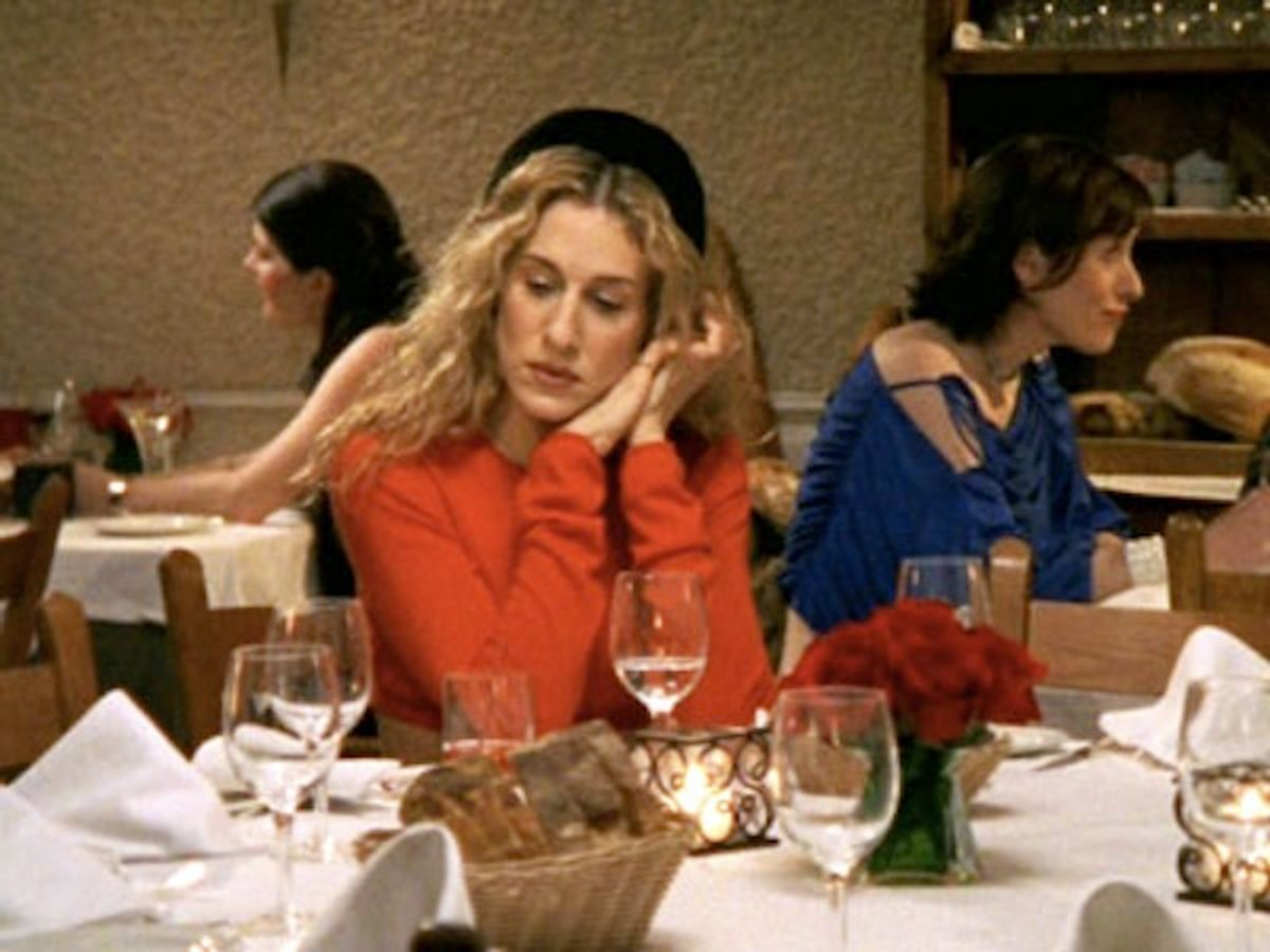 Carrie Bradshaw: one of 20th century television's most iconic figures.