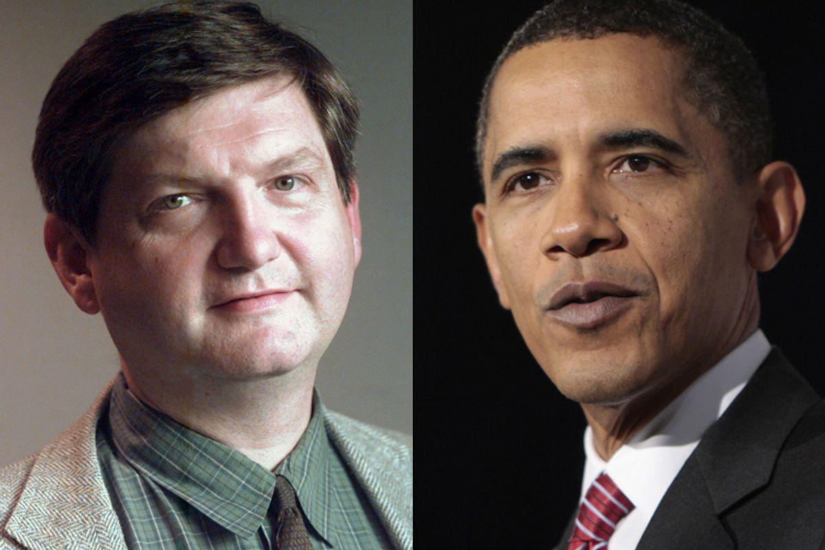 James Risen and President Barack Obama