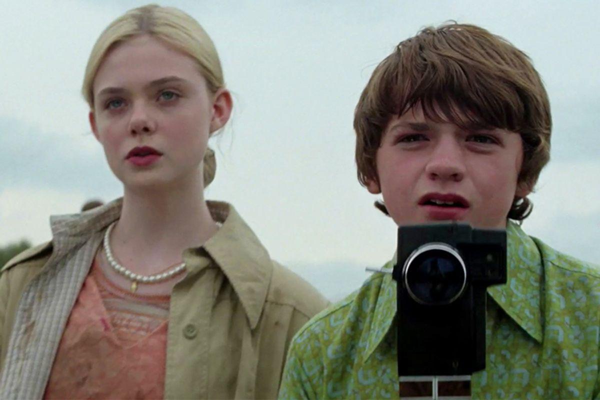 "Elle Fanning and Joel Courtney in ""Super 8"""