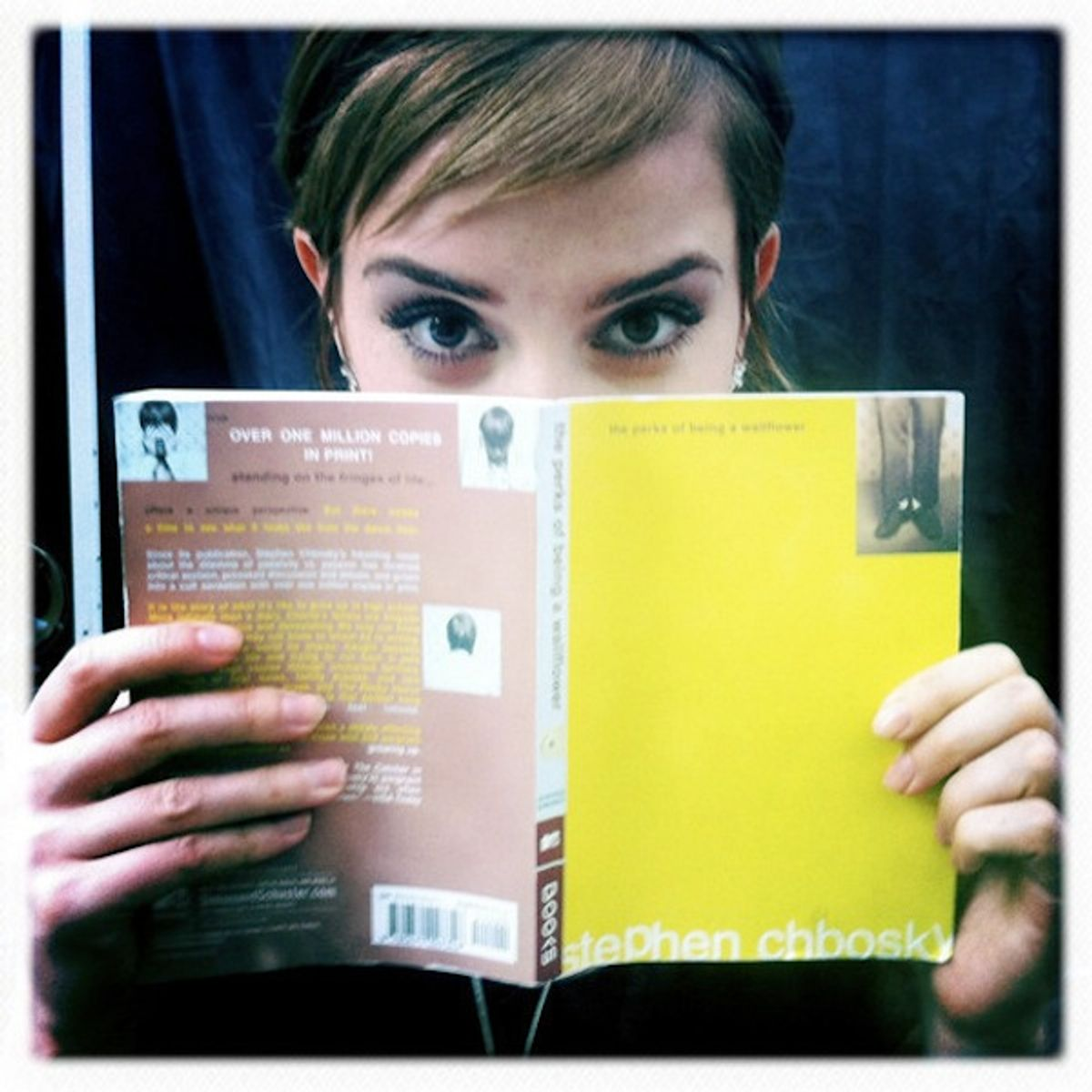 "Emma Watson, star of ""Perks of Being a Wallflower."""
