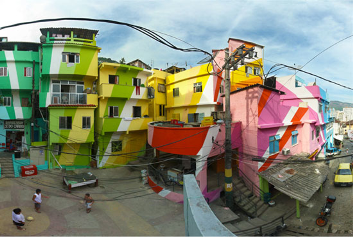 A painting project by Haas & Hahn